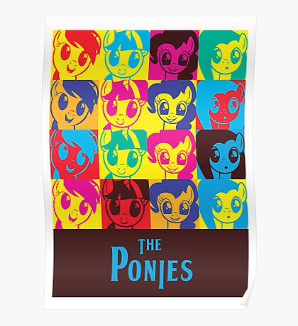 The Ponies Poster