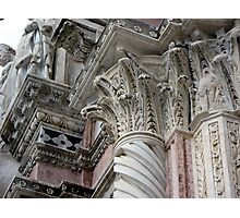 Siena Cathedral 3 Photographic Print