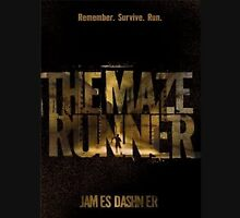 The Maze Runner Book Cover 3 Unisex T-Shirt
