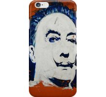 dali graffiti iPhone Case/Skin