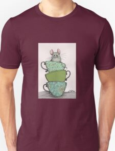Peek-a-boo (mouse in teacup) T-Shirt