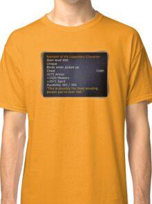 Rainment of The Legendary Character Classic T-Shirt