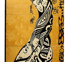 tribal graffiti from nyc by djnarelle