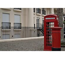 London booth Photographic Print