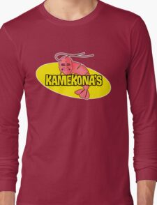 Kamekona's Shrimp Long Sleeve T-Shirt