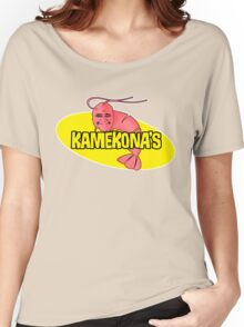 Kamekona's Shrimp Women's Relaxed Fit T-Shirt