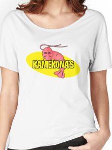 Kamekona's Shrimp Women's Relaxed Fit T-Shirt