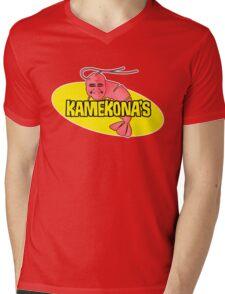 Kamekona's Shrimp Mens V-Neck T-Shirt