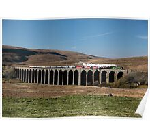 Tornado Crosses Ribblehead Viaduct Poster