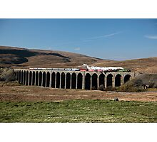 Tornado Crosses Ribblehead Viaduct Photographic Print