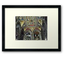 Siena Cathedral Interior 1 Framed Print