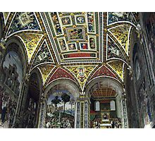 Siena Cathedral Interior 1 Photographic Print