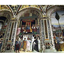 Siena Cathedral Interior 2 Photographic Print
