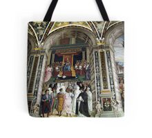 Siena Cathedral Interior 2 Tote Bag