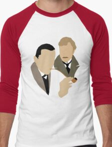 Sherlock - Brett 'n Burke Men's Baseball ¾ T-Shirt