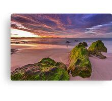 Kirra Beach Sunset Canvas Print