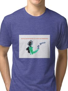 Seeking Revitalization in a World of Stereotypes Tri-blend T-Shirt