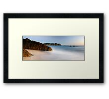Sunrise Hot Water Beach Framed Print