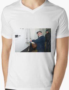 BEER II Mens V-Neck T-Shirt