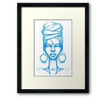 Madusa Framed Print