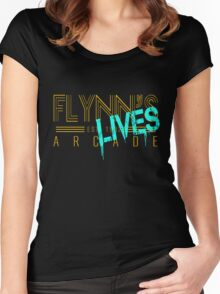 Flynn's Lives Women's Fitted Scoop T-Shirt