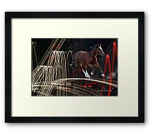 At The Speed Of Light Framed Print