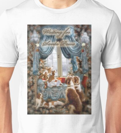 Welshies wait for Santa Paws Unisex T-Shirt