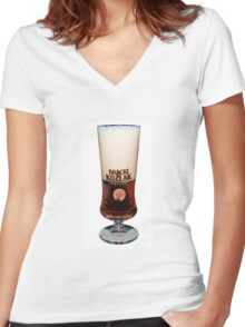 Cheers! Women's Fitted V-Neck T-Shirt