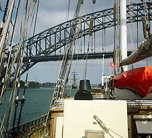 Tall Ships in Sydney harbour by tunna