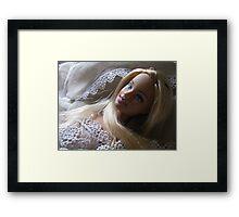 BARBIE PRINCESS Framed Print