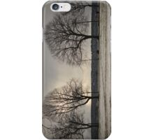 vancouver winter iPhone Case/Skin
