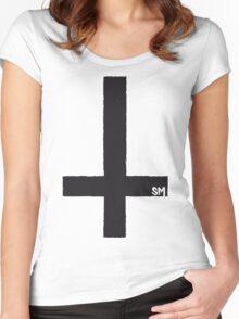 SIDECHAIN MASSACRE Wants Your Soul Women's Fitted Scoop T-Shirt