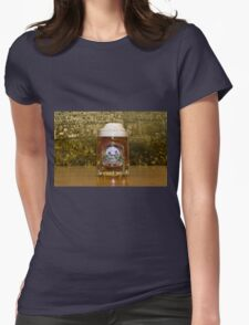 BEER IV Womens Fitted T-Shirt