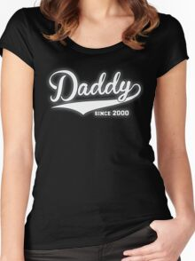 Daddy Since 2000 Women's Fitted Scoop T-Shirt