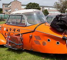 Messerschmitt Rally 8 at Maryport 2011 by Jan Fialkowski