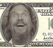 Big Lebowski Dollar by Vintagestuff