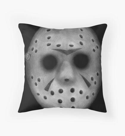 Jason Vorhees Throw Pillow