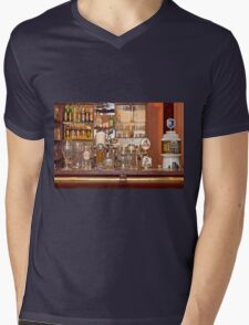BAR Mens V-Neck T-Shirt