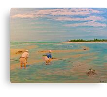Stalking Tarpon Canvas Print