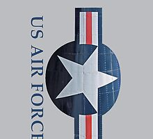 US Air Force iphone case by Karl R. Martin