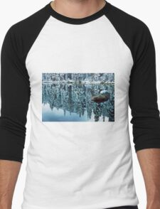 Snow Mirror Men's Baseball ¾ T-Shirt