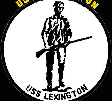 USS Lexington CV-2 for Dark Colors by Spacestuffplus