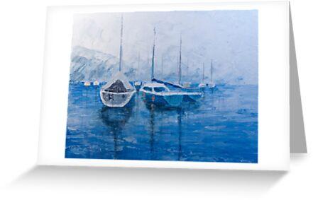 Sail Harbor by Richard Darcy