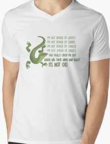 Snakes! where are their arms and legs!!?  T-Shirt