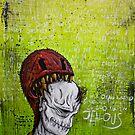 Disfigured/Dismantled: Jealous by MarcLothsArt