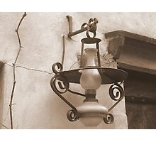Old Lantern Photographic Print