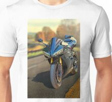 Sport motorcycle in Fall Unisex T-Shirt
