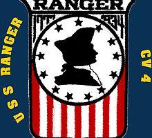 USS Ranger CV-4 for Dark Colors by Spacestuffplus