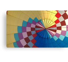 Parachute Tent Canvas Print