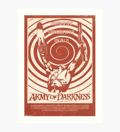 Army of Darkness (1992) Custom Poster Art Print